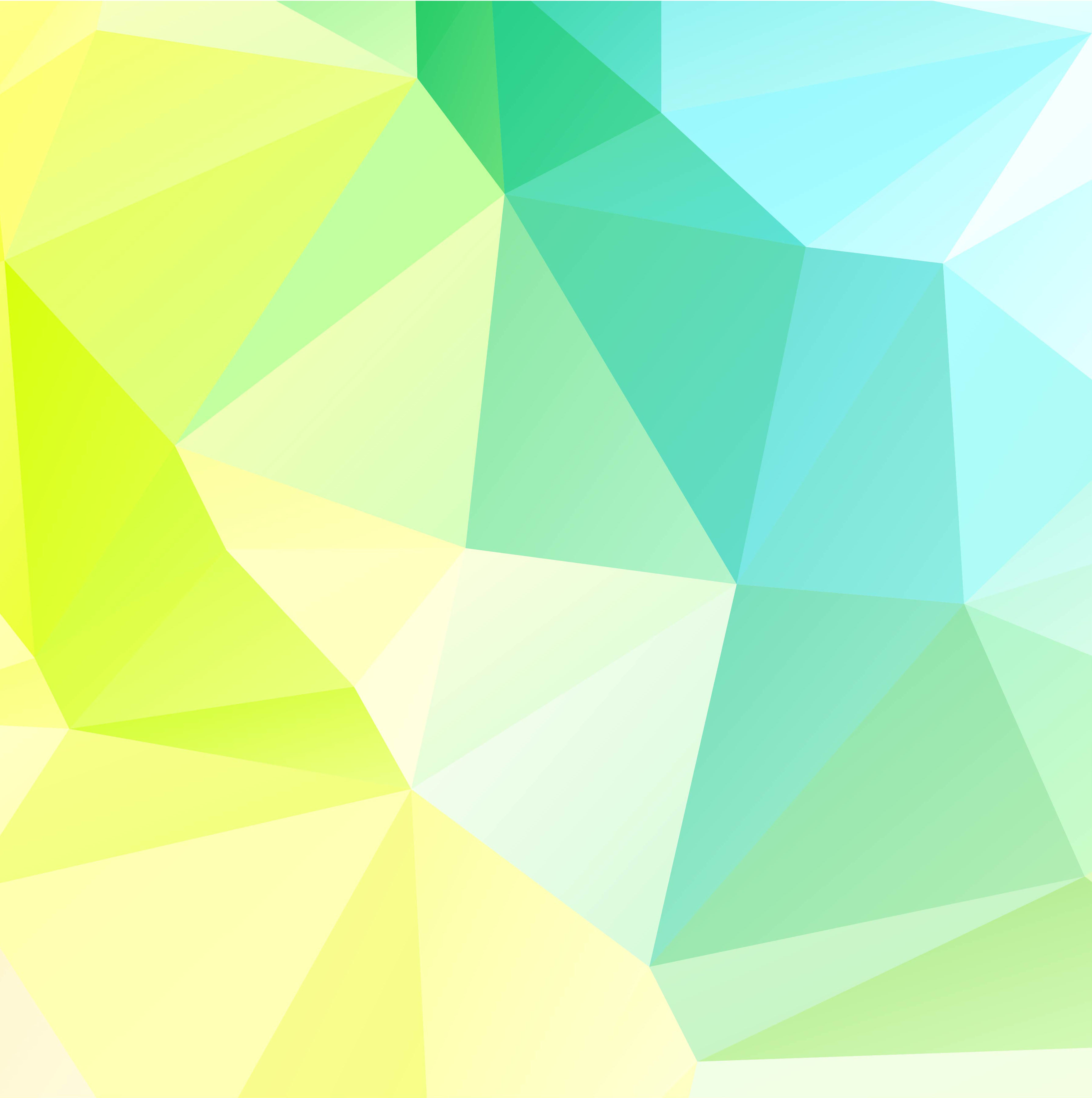 Free Colorful Geometric Wallpaper: Abstract Geometric Colorful Polygon Background