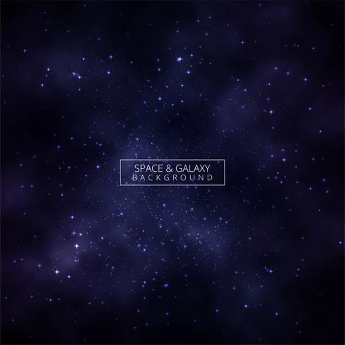Fondo abstracto brillante galaxia