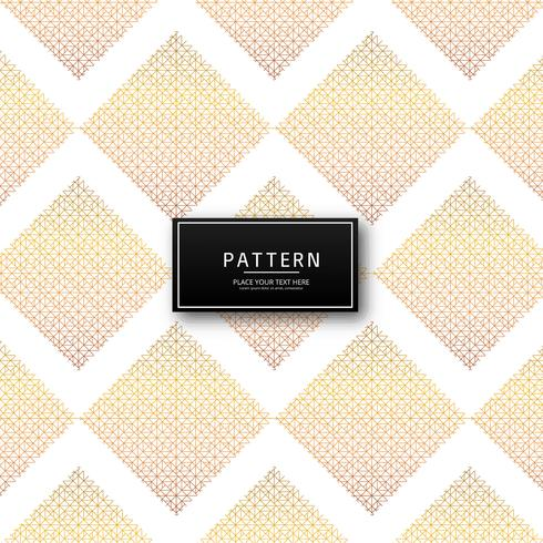 Modern decorative seamless pattern design vector
