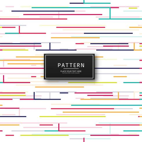 Abstract colorful lines pattern background