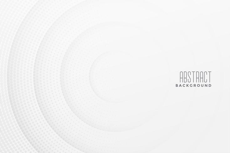 abstrakt halvton vit bakgrundsdesign