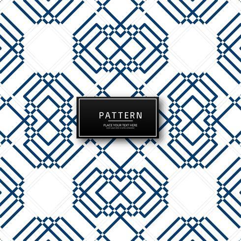 Diseño moderno patrón geométrico