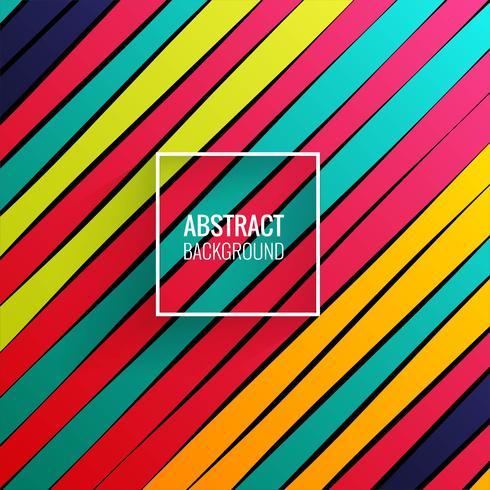 Elegant colorful lines background vector