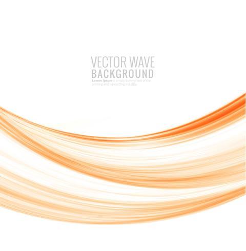 Vecteur d'onde créative abstraite