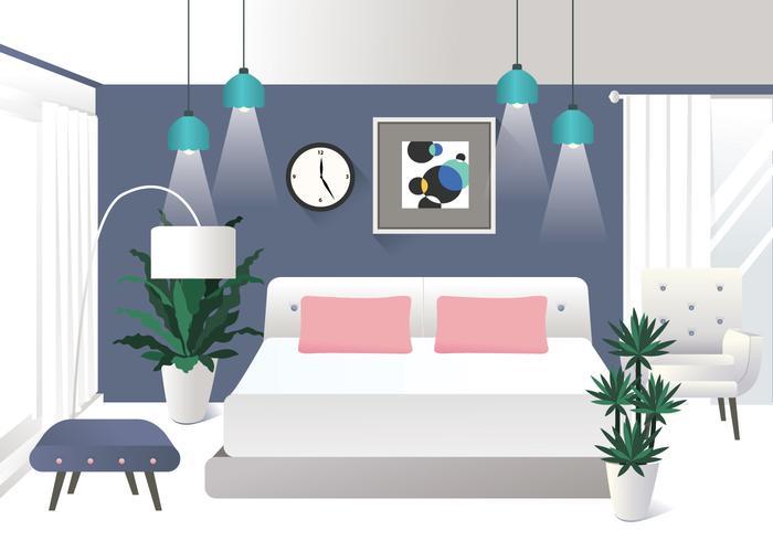 Realistic Interior Design Elements Vol 2 Vector