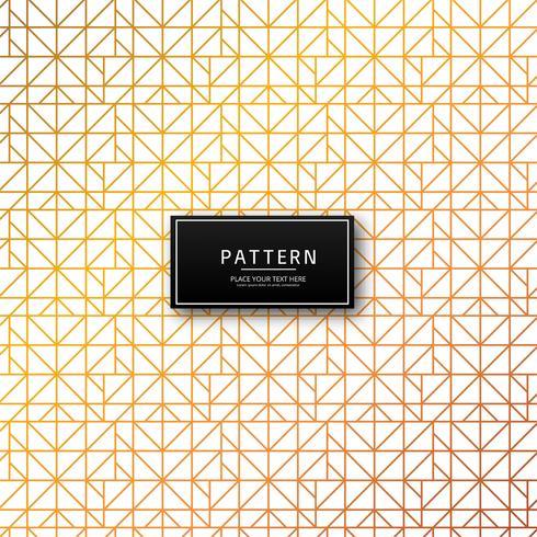 Fondo de líneas geométricas patrón