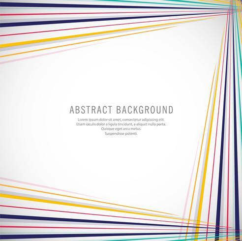 Líneas coloridas abstractas ilustración de fondo