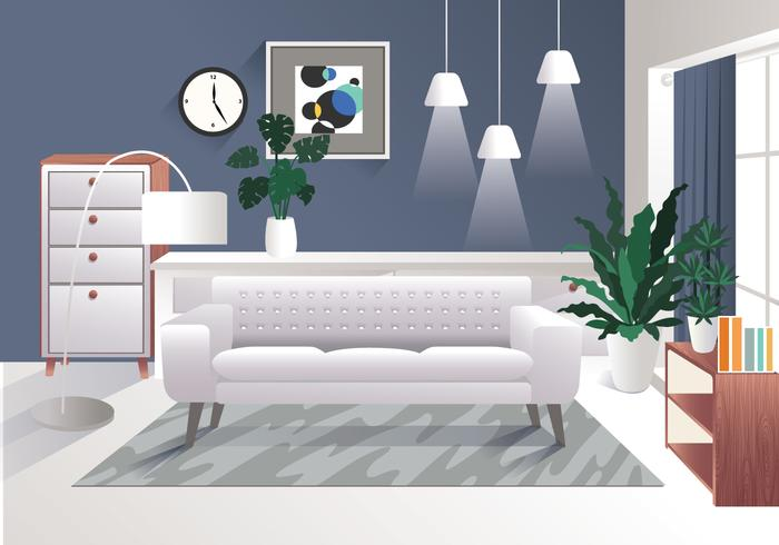 Realistic Interior Design Elements Vol 3 Vector