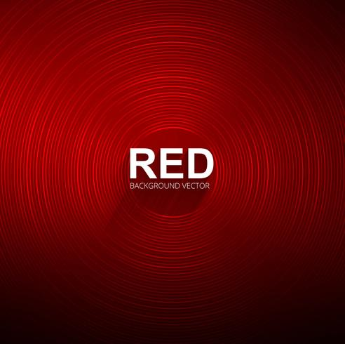 Abstract shiny circular red background