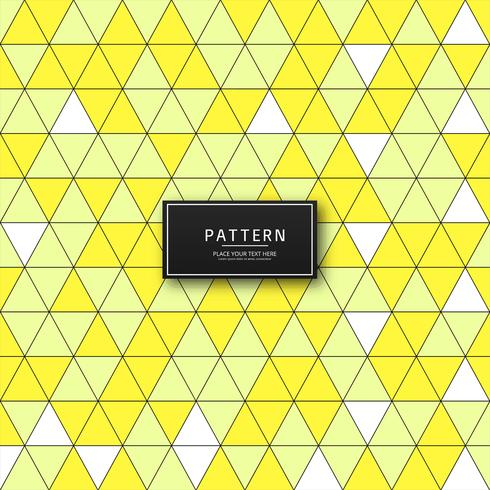 Abstract yellow geometric pattern background