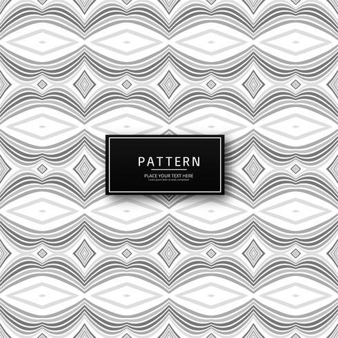 Elegant gray geometric seamless pattern design