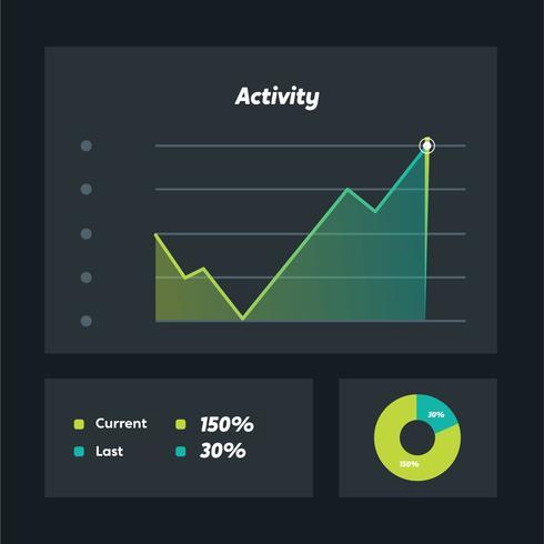 charts ui kit vector