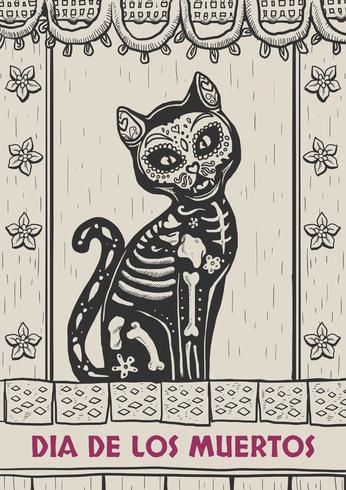 Giorno dei Dead Card Background
