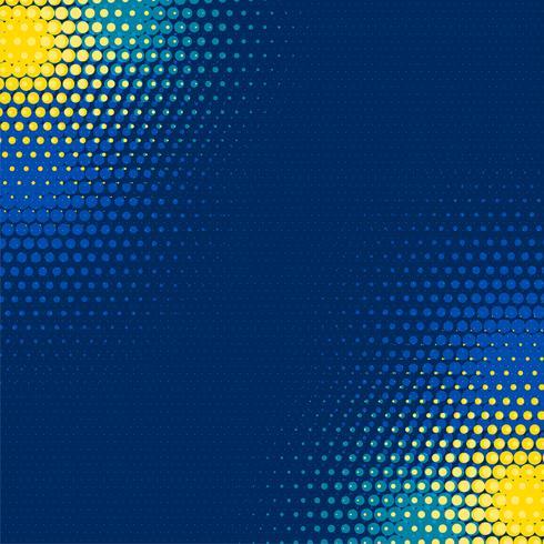 fundo de pontos de retícula azul abstrato