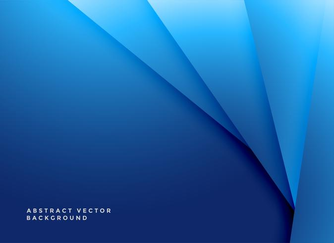 fundo de formas geométricas azul mínima