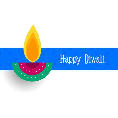 cumprimento criativo do festival do projeto de diwali