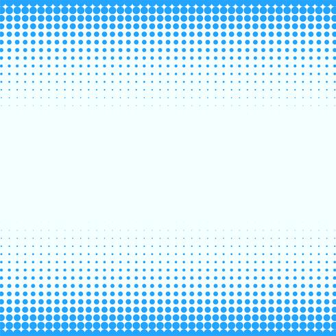 fundo do círculo azul retículo de meio-tom