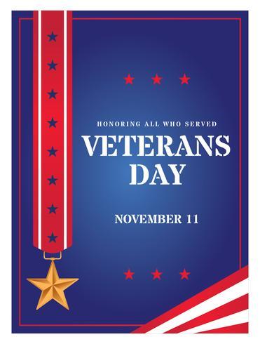 veteranen dag poster