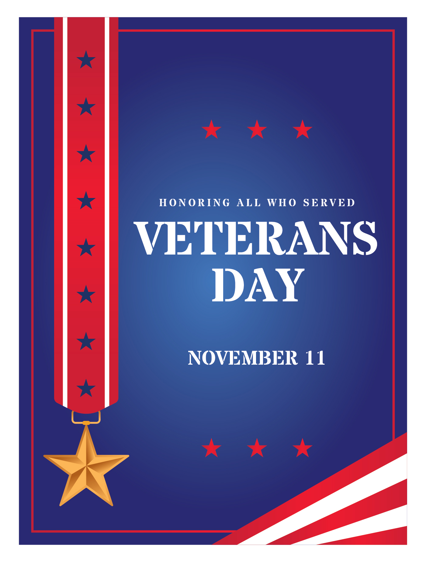Veterans Day Poster - Download Free Vector Art, Stock ...