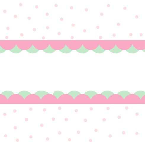 cerchi carino pattern design sfondo