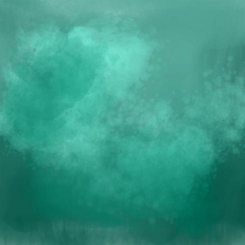 detaillierte grüne Schatten Aquarell Hintergrund