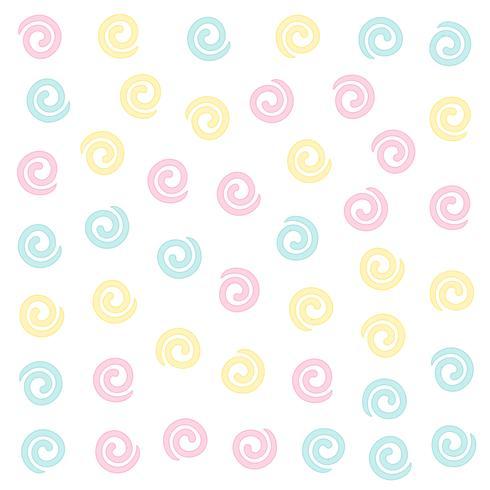 sfondo modello ricciolo di colore morbido