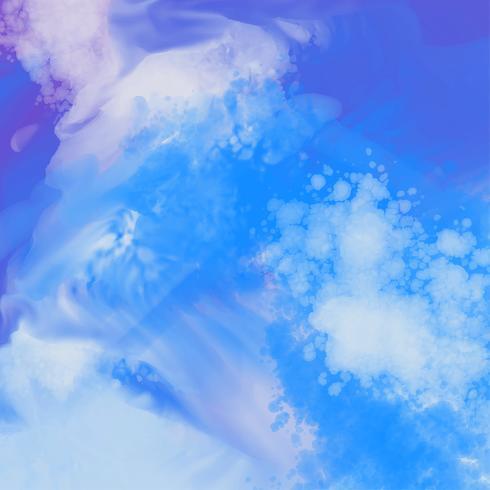 abstrakter detaillierter blauer Aquarellbeschaffenheitshintergrund
