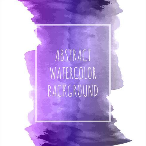 Abstrakter bunter Aquarellanschlag-Hintergrundvektor