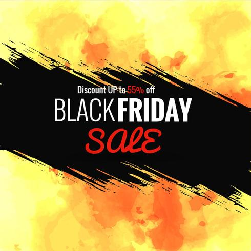 Abstrakter schwarzer Freitag-Verkaufsplakat-Designvektor vektor