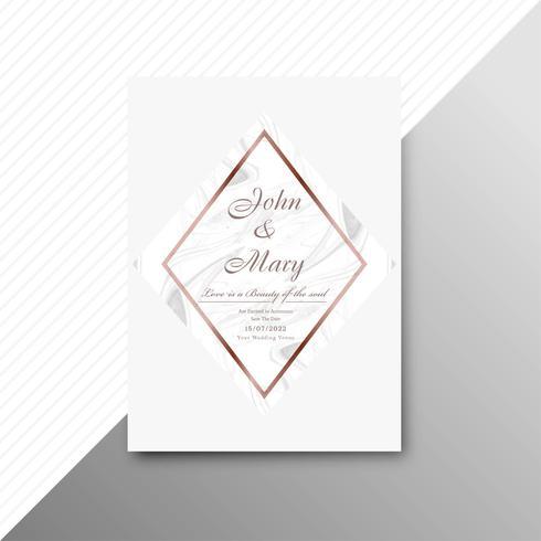 Modern wedding invitation card background