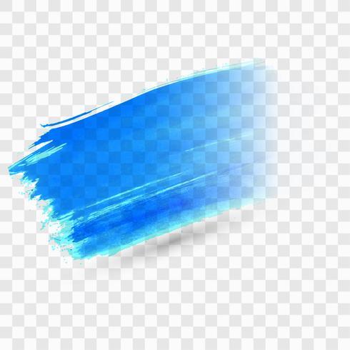 Abstrakter bunter Aquarellanschlag-Hintergrundvektor vektor