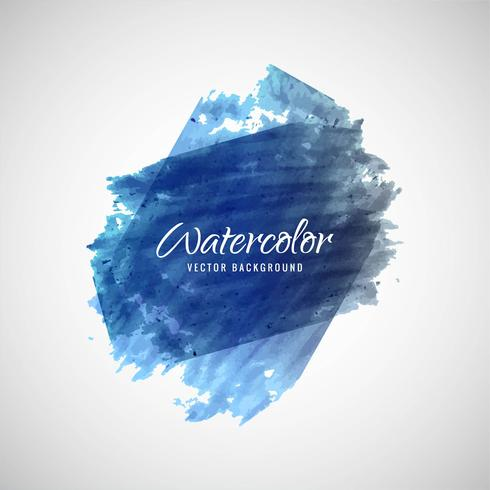 Abstracte kleurrijke van de waterverfslag vector als achtergrond