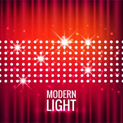 Fondo ligero moderno abstracto