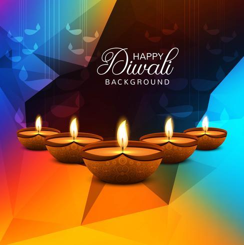 Fond de modèle décoratif festival créatif Diwali