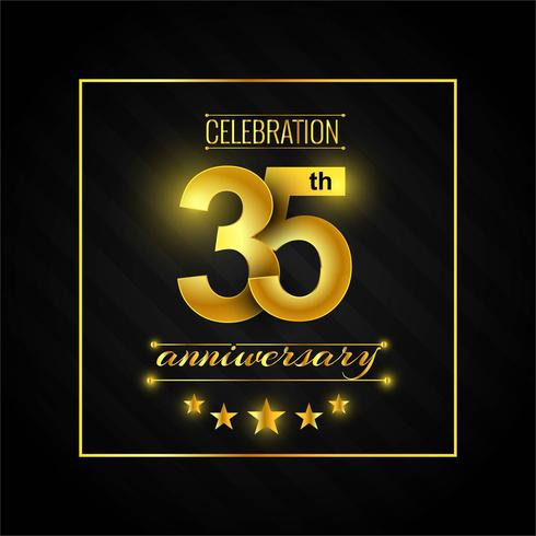 Logotipo do 35º aniversário