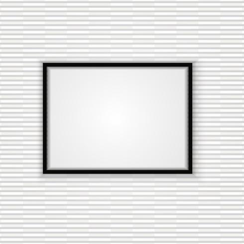 Abstract frame met muur textuur ontwerp