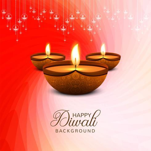 Feliz Diwali fundo celebração decorativo