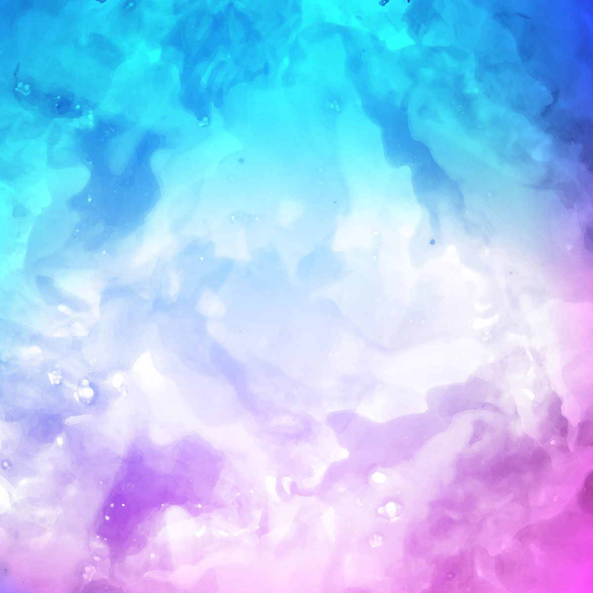 Abstract colorful watercolor stroke background vector ...