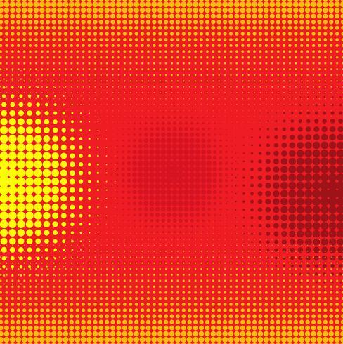 Abstrakter bunter komischer Hintergrund mit punktiertem Design