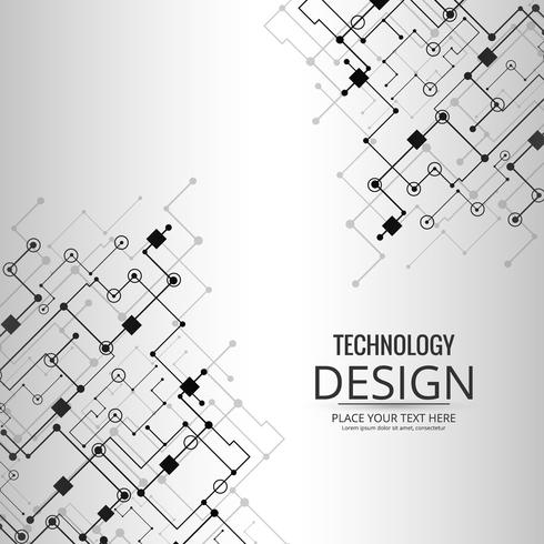 Abstratos, tecnologia, fundo, desenho, ilustração