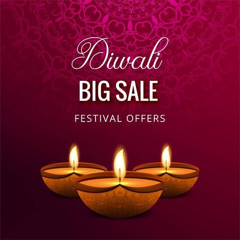 Feliz diwali celebrationi fundo decorativo
