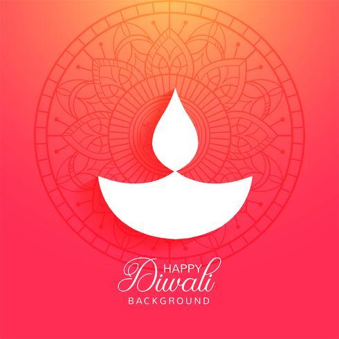 Bunter Hintergrund des religiösen glücklichen diwali Festivals