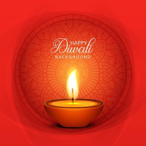 Schöne Grußkarte zum Festival der Diwali-Feier