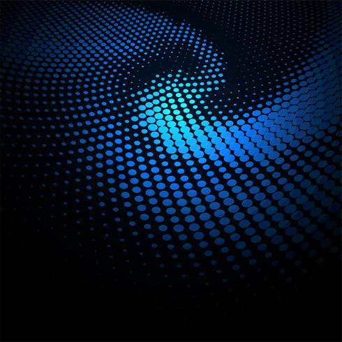 Modern färgrik cirkulär glänsande prickar bakgrund