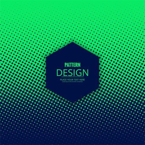 Abstract gestippeld halftone patroonontwerp