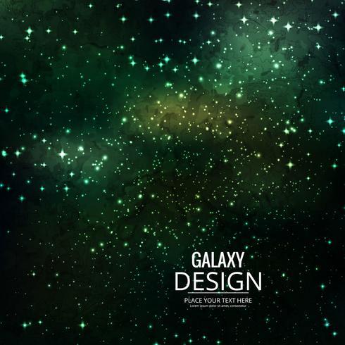Space Galaxy Background avec nébuleuse, poussière d'étoile et éclat brillant