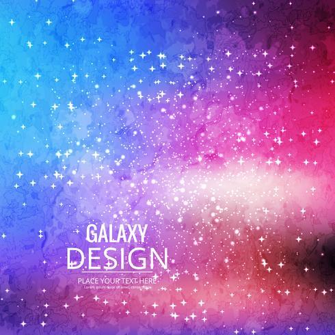 Fondo Space Galaxy con nebulosa, polvo de estrellas y brillo brillante