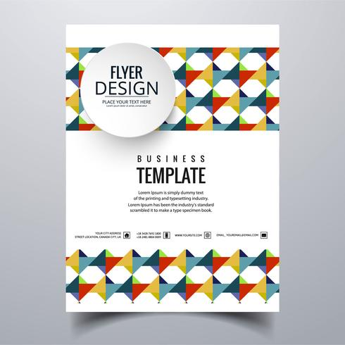 Design de modelo de cartão de visita elegante abstrato buisness