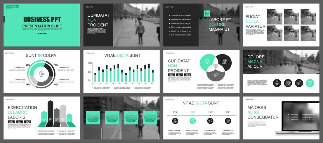 Business presentation powerpoint slides templates from infographic business presentation powerpoint slides templates from infographic elements friedricerecipe Gallery