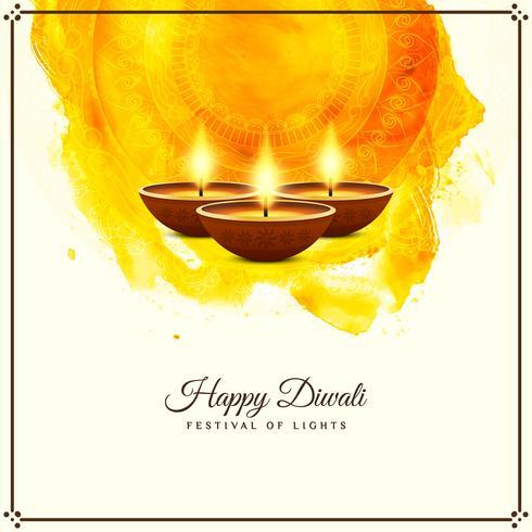 Abstrakt Glad Diwali religiös hälsning bakgrund